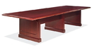 Office Source 998MH 12Ft - Rectangular Table w/Panel Base
