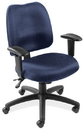 Office Source D2001 Task Chair W/Adj Arms