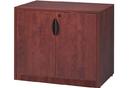 Office Source PL113 2 Door Cabinet 1 Adj Shelf