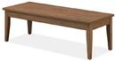 Office Source PL219 49X24 Srt Leg Coffee Table