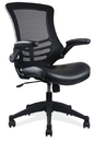 Office Source S13MBVSBLK Task Chair w/Cantilever Arms & Black Frame