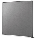 Office Source SP6624 Pewter Fabric/Charcoal 66X24 Panel