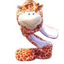 TopTie Furry Animal Hood Hat, Best Cheap Hats - Giraffe