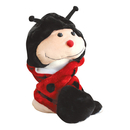 TopTie Lady Bug Animal Hat/Scarf With Ear Flaps And Hand Pockets - Lady Bug