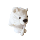 TopTie Winter Animal Hat, Earmuff Soft Warm Hat - Bear, Polar Bear