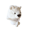TopTie Winter Animal Hat, Earmuff Soft Warm Hat - Bear, Polar Bear