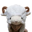 TopTie Ladies Animal Hat, Soft Fleece Lined Hat - Sheep Antelope Beauty Hat