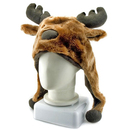 TopTie Faux Fur Xmas Animal Hat - Elk Santa, Christmas Hat