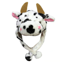 TopTie Cool Hats, Hood With Ear Flap - Cow, Horse, Bull, Cattle