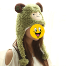 TopTie Better Quality Hood Hat, Best Hats - Sheep Giraffe Duck With Pom Poms