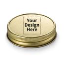 Muka 250 Custom Mason Jar Lids, BPA Free, Plastisol Canning Lids for Regular Mouth Mason Jars