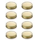 Muka 250 Mason Jar Lids, BPA Free, Plastisol Canning Lids for Regular Mouth Mason Jars
