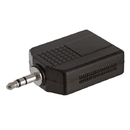 Cmple 1138-N 3.5mm Stereo Plug to 2x6.35mm Stereo Jack Adapter