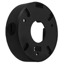 Cmple 1282-N CCTV Mounting Junction Box will fit most Small Dome cameras - Black