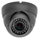 Cmple 1292-N Security Indoor,Outdoor Dome Camera 1000TVL, Dark Gray36IR-2.8-12mm Varifocal