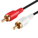 Cmple 397-N RCA Stereo Audio Cable Male to Male - 50 ft