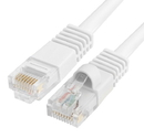 Cmple 558-N RJ45 CAT5 CAT5E ETHERNET LAN NETWORK CABLE - 15 FT White