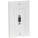 Cmple 999-N VGA 15pin Female Wall Plate (Gold Plated)