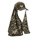 Cobra Caps CS-CL Flex Cool Off Vintage Camo Cap Shade, Shoulder Length, One Size