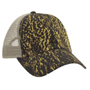 Cobra Caps DC-6 6 Pnl Duck Camo Soft Mesh Back, Dc/Khaki