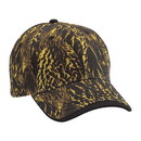 Cobra Caps DCW-C 6 Pnl Duck Camo Wave Sandwich, Dc/Black
