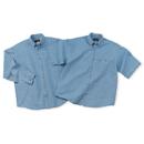 Cobra Caps DEN-L Denim Washed Shirt-Long Sleeve