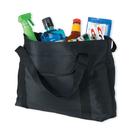 Cobra Caps TM-Z Zippered Microfiber Tote Bag, Black