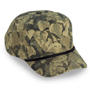 Cobra Caps TSG-C 5 Pnl Camo Golf Cap w/Braid