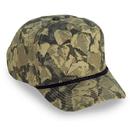 Cobra Caps TSG-C 5 Pnl Camo Golf Cap w/Braid