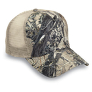 Cobra Caps TT-5M 5 Pnl 100% Polyester True Timber Camouflage Mesh