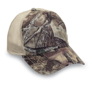 Cobra Caps TT-6M 6 Pnl True 100% Polyester Timber Camouflage Mesh