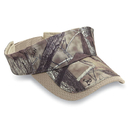 Cobra Caps TT-VIS 3 Pnl Polyester True Timber Camouflage Visor