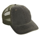 Cobra Caps WC-M 6 Pnl Weather-Washed  Cap with SOFT Mesh back
