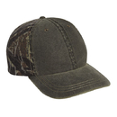 Cobra Caps WSG-C 6 Pnl Weather-Washed Cap with Superflauge Camo Bk