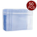 GOGO 50Pcs Horizontal Badge Card Holder Protective Case