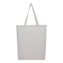 Muka Grocery Shopping Bags with Bottom 15 x 16 x 3 Inches Reusable Cotton Tote Bag