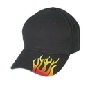 Cameo Sports CS-109 Brushed Cotton With Embroidered Flame Logo