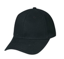 Cameo Sports CS-200 Stretch Heavy Weight Brushed Cotton Fitted Cap, Stretchable Deluxe Brushed Cotton