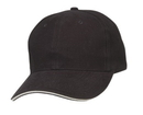 Cameo Sports CS-308 Sandwich Visor Brushed Cotton Cap