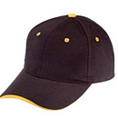 Cameo Sports CS-309 Wave Visor Brushed Cotton Cap