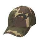 Cameo sports CS-61 Green Camo Cap, Dark Green/Brown Camo
