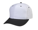 Cameo Sports CS-63C Pro Style White Crown Cap
