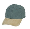 Cameo Sports CS-75SU Pigment Dyed Washed Cotton w/Suede Visor