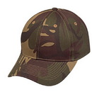 Cameo sports CS-81AV Green Camo Cap, Velcro Closure