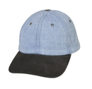 Cameo Sports CS-95SU Denim Cap w/ Suede Visor