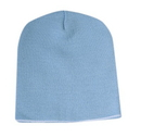 Cameo Sports CS-B801 8 Acrylic Knit Beanie with Color Trim