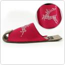 Cape Clogs 1005R DIVA Slippers, Glamour Deer Raspberry