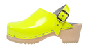 Cape Clogs 13210144 Children/Toddler, Neon Patent Yellow