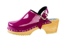 Cape Clogs 1321018 Pica Pica High Heel, Purple Patent Leather