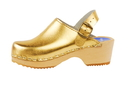 Cape Clogs 1321338 Solid Plain, Gold